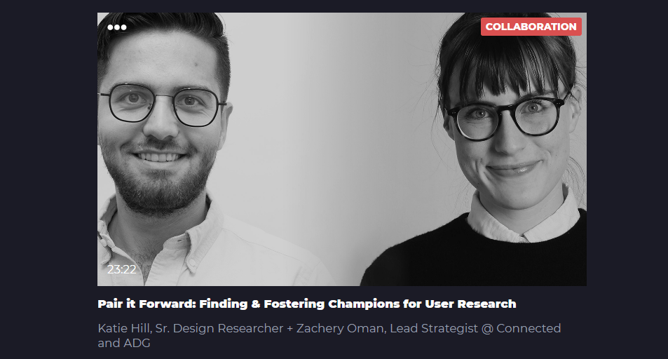 Pair it Forward: Finding & Fostering Champions for User Research