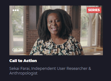 Call to Action - Empahty in UX Research Methods