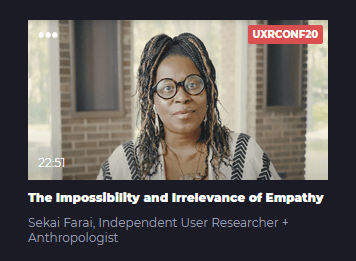 The Impossibility and Irrelevance of Empathy
