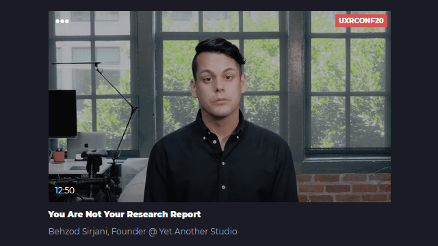 Learners talk: You Are Not Your Research Report