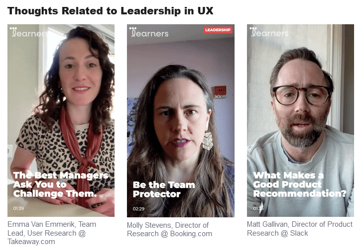 thoughts on leadership in UX