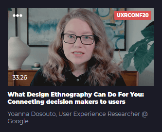 What Design Ethnography Can Do For You: Connecting decision makers to users
