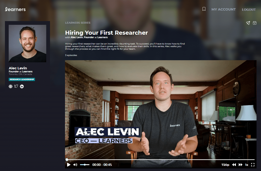 Hiring Your First Researcher Series Page